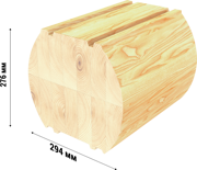 glue laminated timber used in assembling of wooden houses russia 03