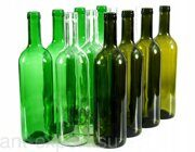 701090 glass colored bottles