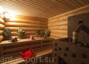 Russian banya steam bath wooden house inside 03