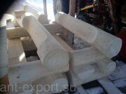 Russian style wooden benches made in russia