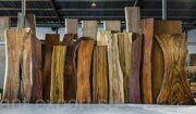 wooden tree trank slab treated end product 03