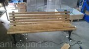 wooden bench econonomical version 01