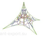outdoor kids playground clibing net  made in russia 04
