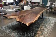 wooden tree trank slab treated end product 02
