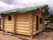 russian banya with steam bath prefabricated wooden house made in russia 03