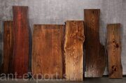 wooden tree trank slab treated end product 04