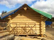russian banya with steam bath prefabricated wooden house made in russia 04