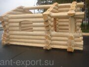 russian banya with steam bath prefabricated wooden house with canadian bowl made in russia