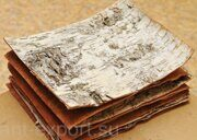 Birch bark russian origin exported in plates 03