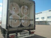 glass fibre tissue shipped by full truck load 05