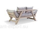 Garden wooden couch made in russia 02