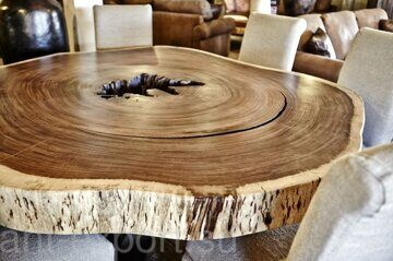 wooden tree trank slab treated end product 05