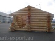 russian banya with steam bath prefabricated wooden house made in russia 06