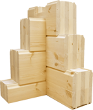 glue laminated timber used in assembling of wooden houses russia 02